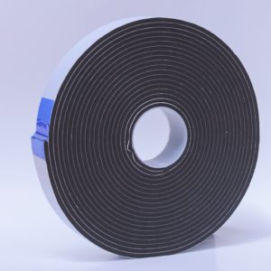 PE Single Sided Foam Black Hard 3mm